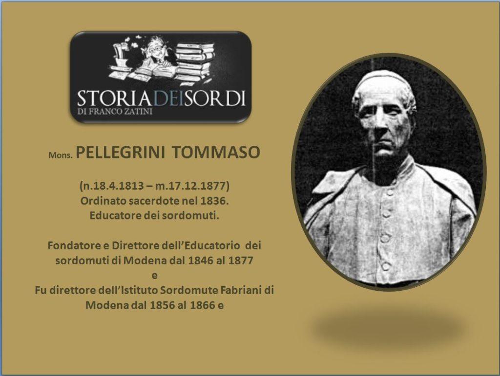 Pellegrini Tommaso 1813-1877