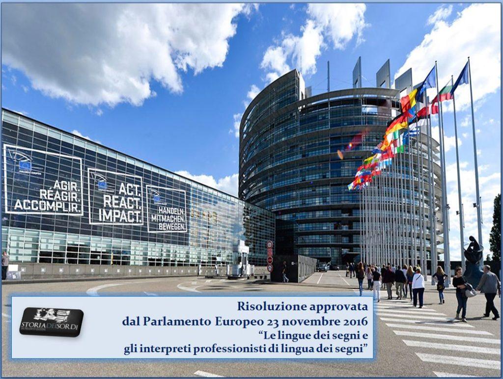Risoluzione Parlamento Europeo 23 novembre 2006