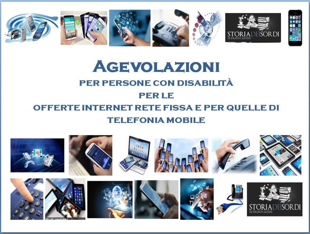 Agevolazione Telefonia Agcom
