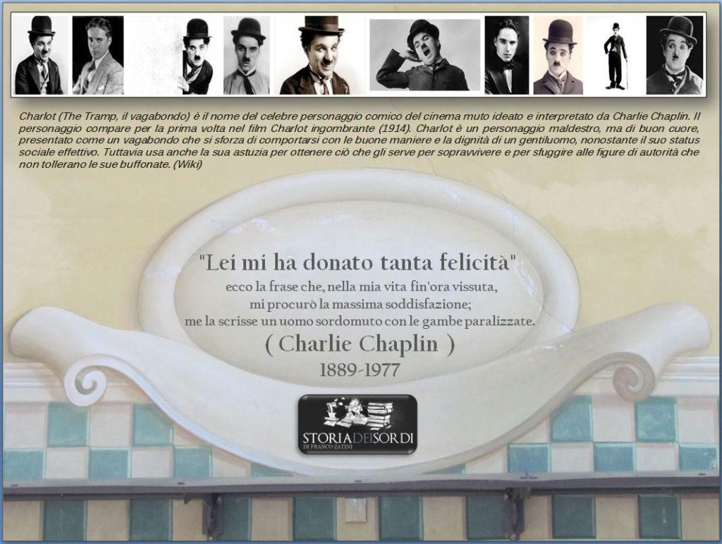 Charlie Chaplin 1889-1977 storia dei sordi