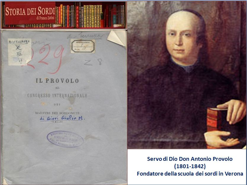 Don Antonio Provolo 1801-1842)