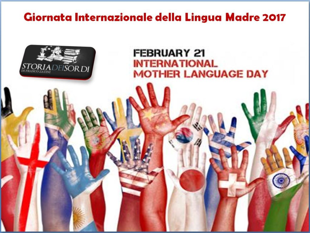 Giornata Internazionale Lingua Madre 2017