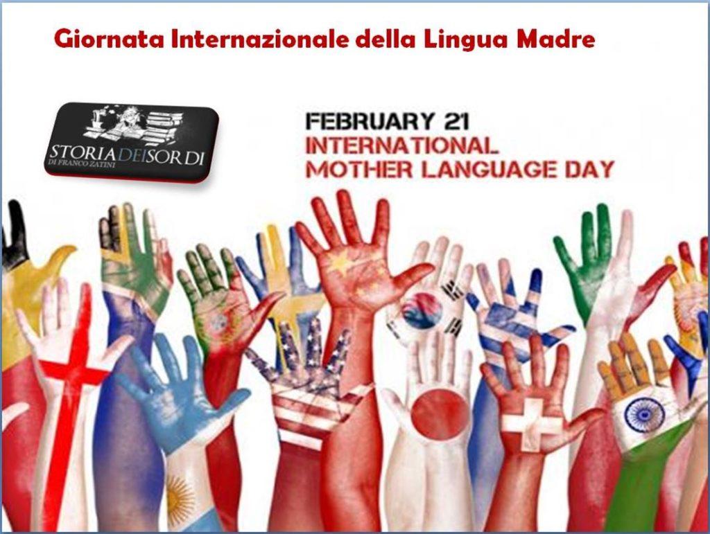 Giornata internazionale della madre lingua
