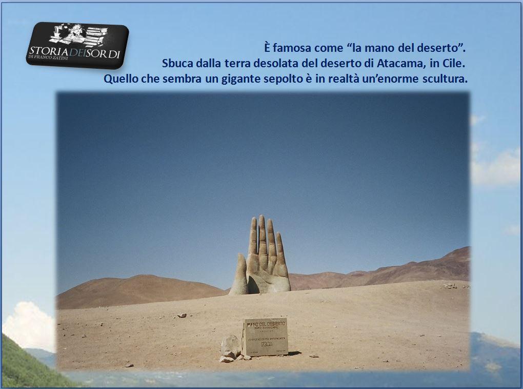 La mano del deserto