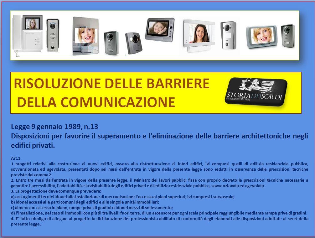Risoluzione Barriere Comunicazione