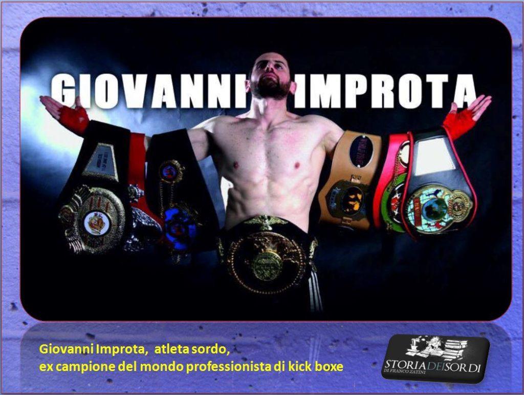 Giovanni Improta atleta sordo