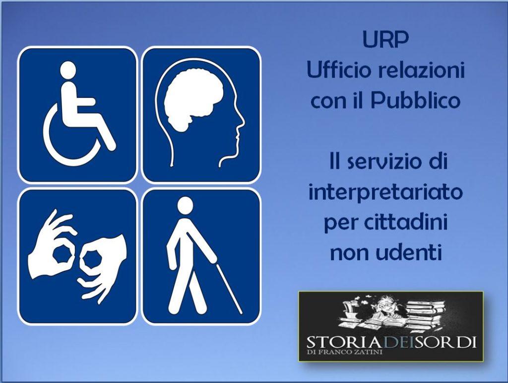 Servizio di interpretariato URP