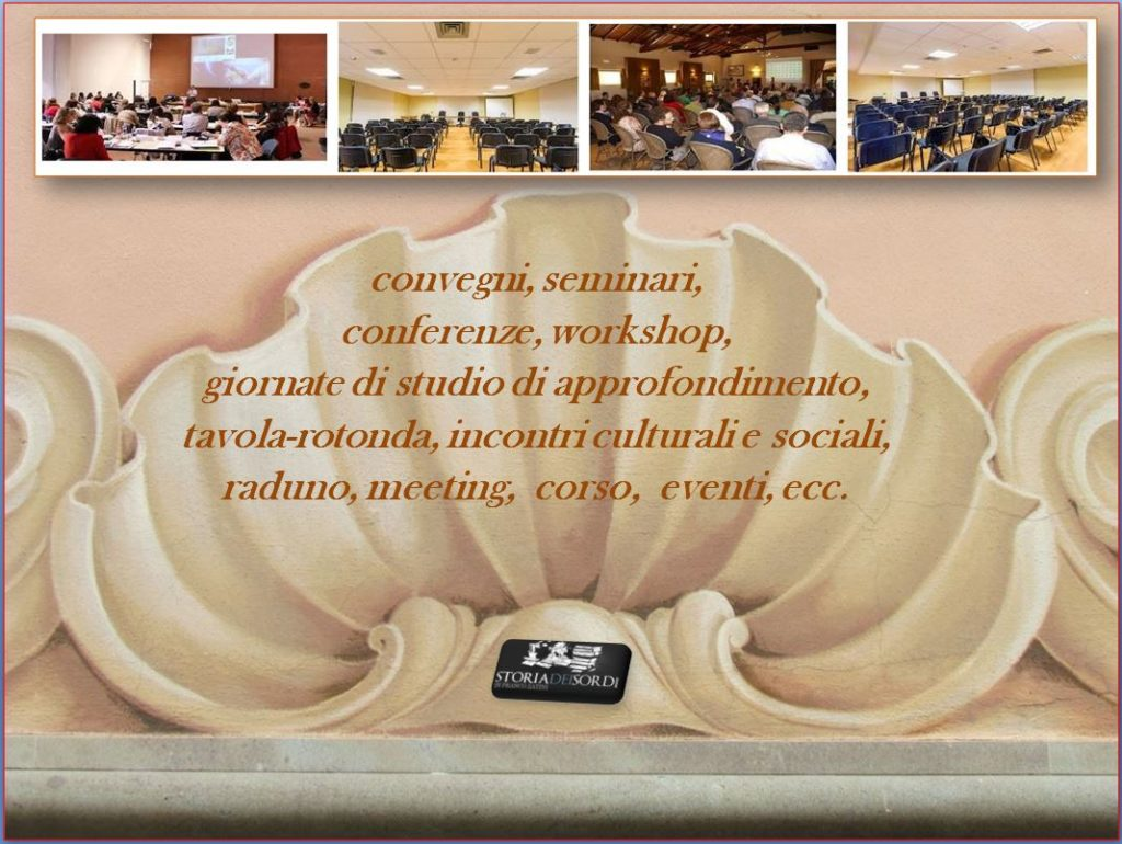 convegni, workshop, raduno