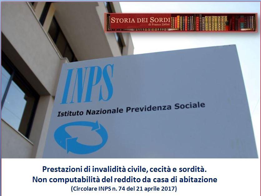 INPS 74 del 2017