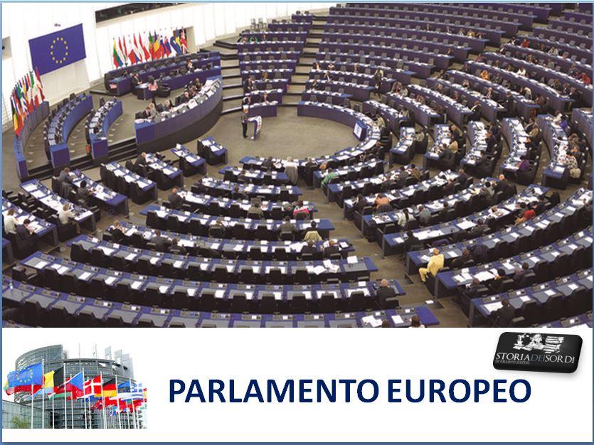 Parlamento Europeo Storia dei Sordi