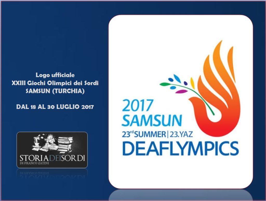 Deaflympics 2017 LOGO