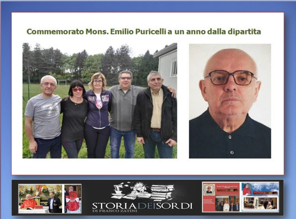 Don Emilio Puricelli Commemorazione un anno dipartita