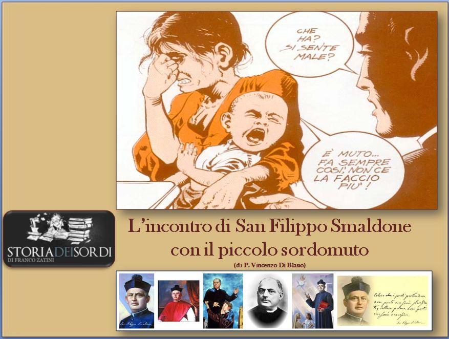San Filippo Smaldone e il piccolo sordomuto