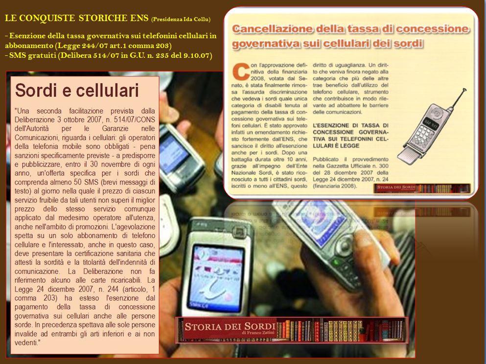 esenzione tassa governative cellulari e 50 sms gratis