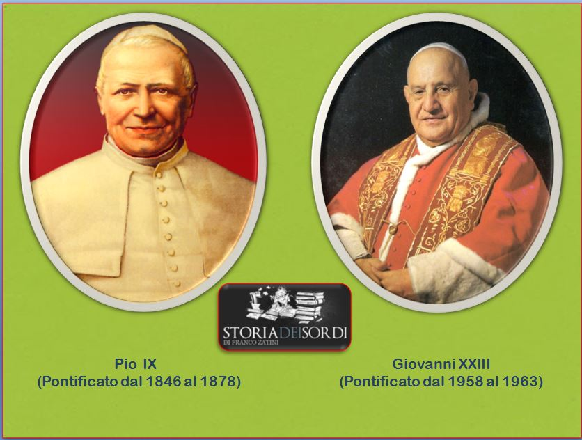 Pio IX e Giovanni XXIII