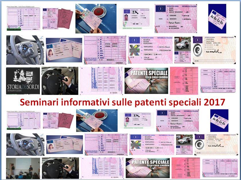 Seminari sulle patenti speciali
