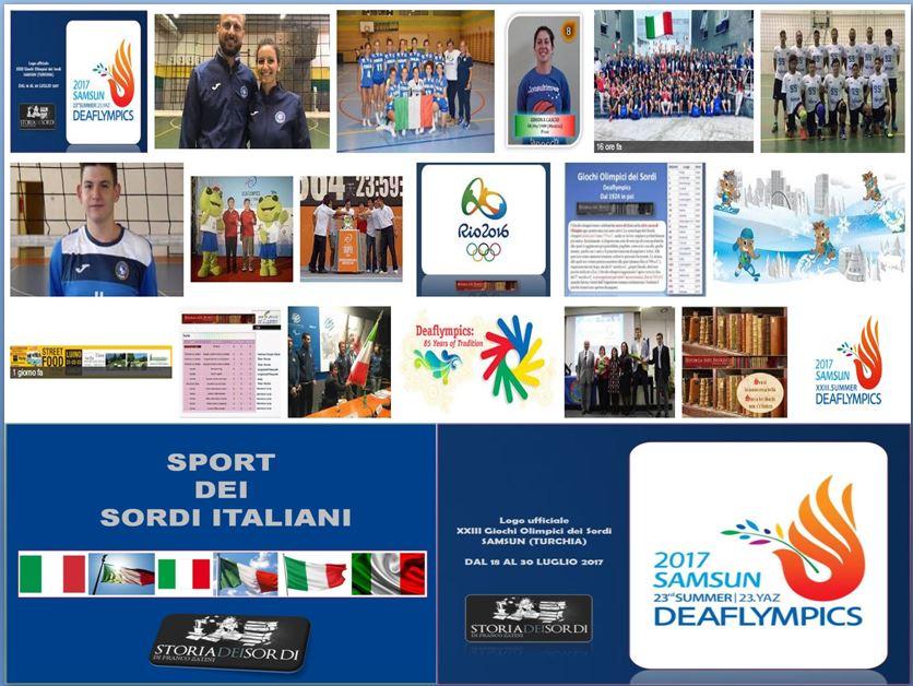 Sport olimpiadi dei sordi
