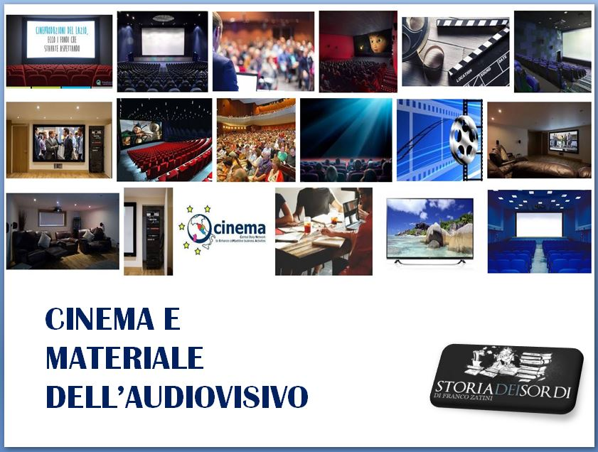Cinema e Materiale audiovisivo