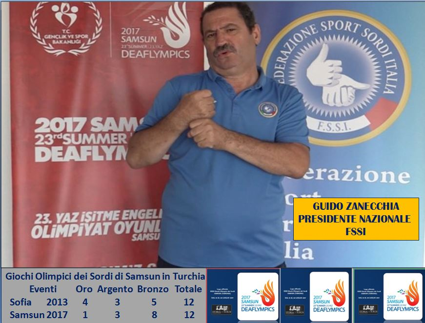 Guido Zanecchia Deaflympics