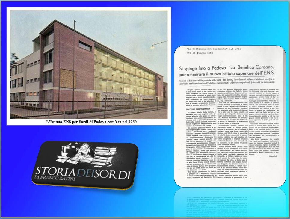 Istituto Magarotto Padova 1961