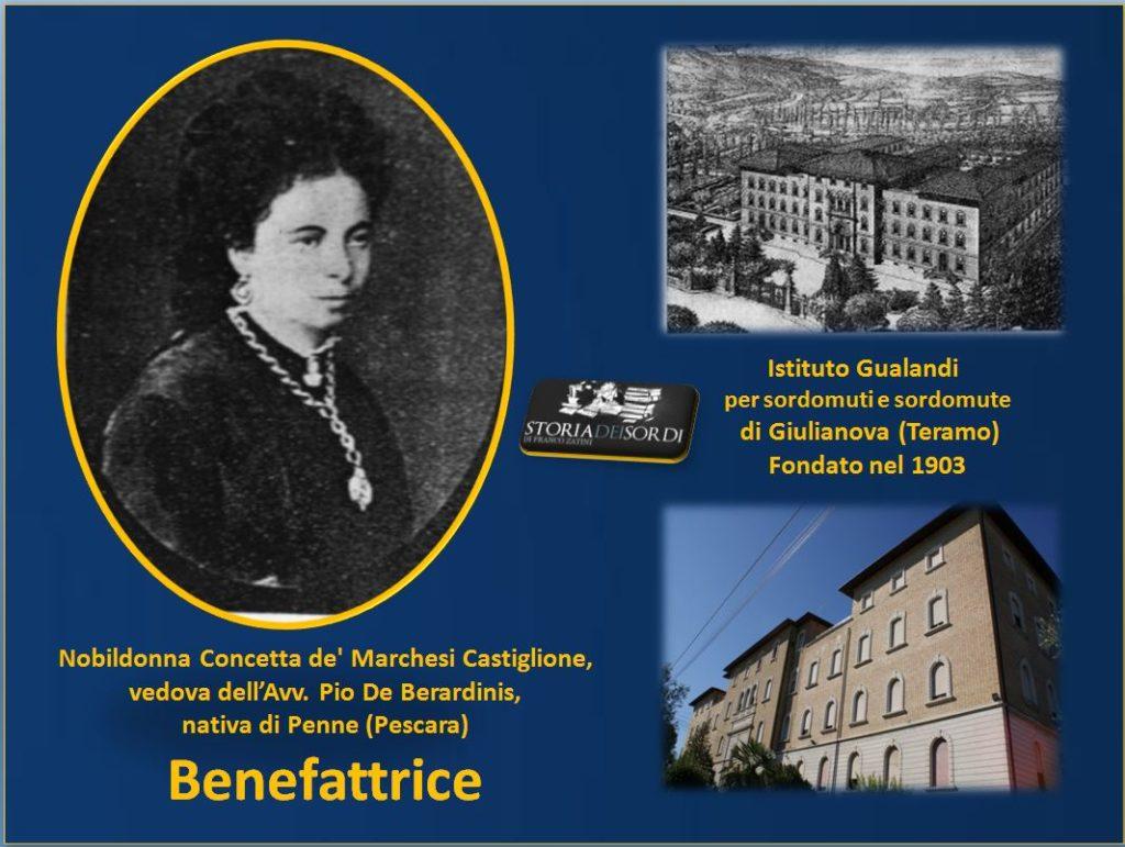 Concetta de Marchesi Castiglionne