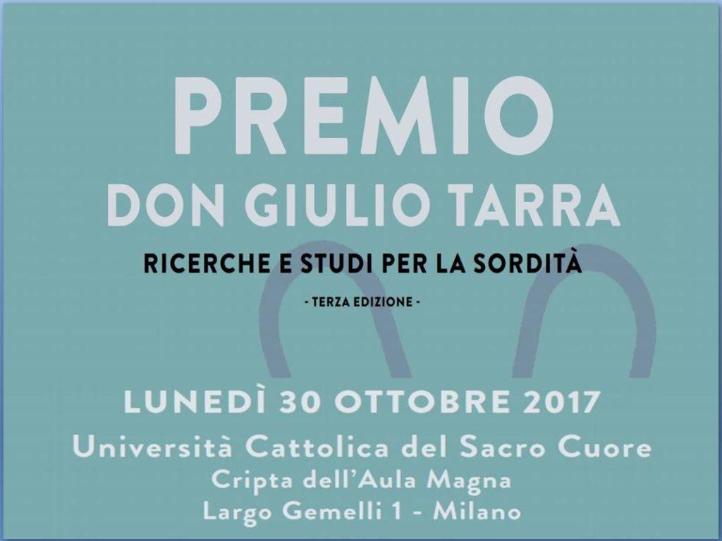 Premio Tarra 2017