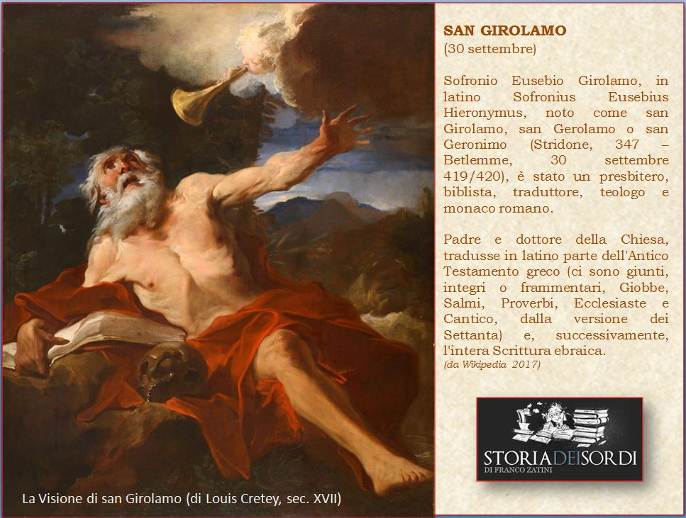 San Girolamo storia dei sordi