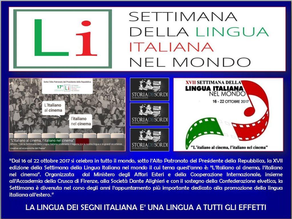 XVII Settimnana della Lingua Italiana