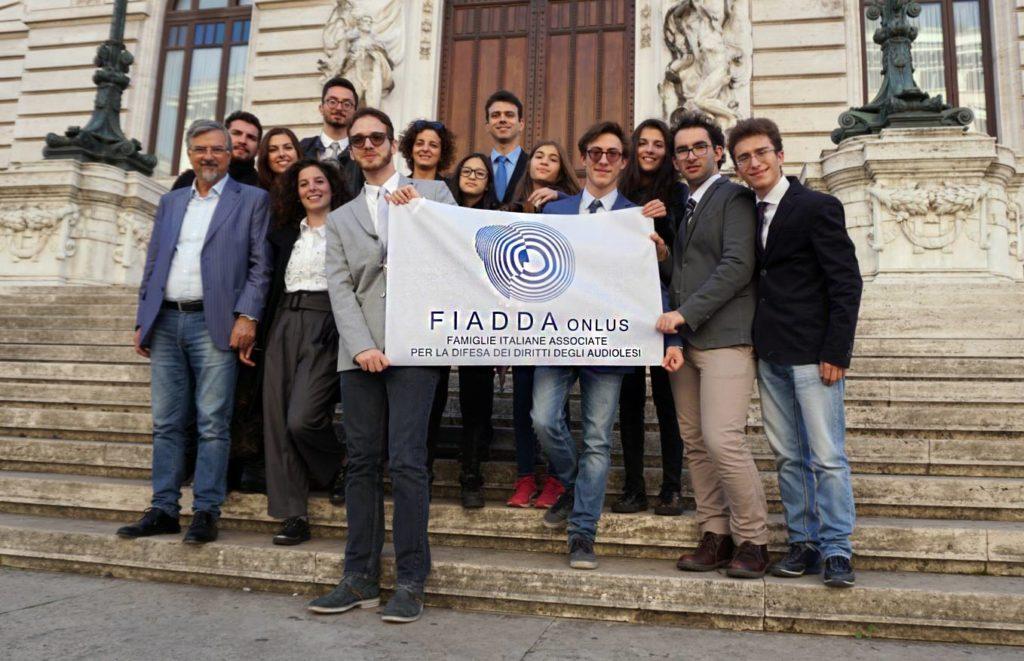 Delegazione Giovani Fiadda Camera dei Deputati 25 ottobre