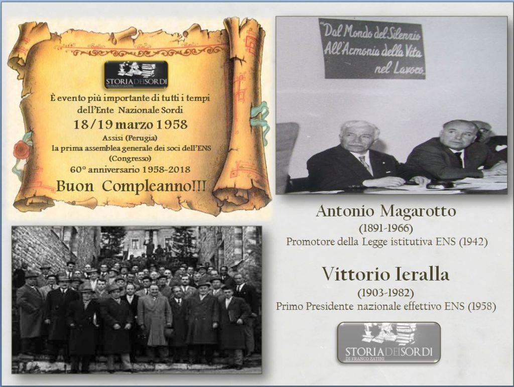 Congresso Ens 60 anni 1958-2018