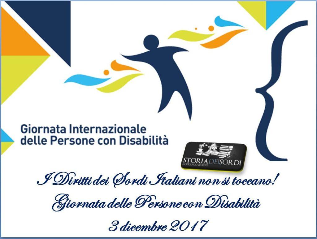 Giornata Internazionale Disabili 2017