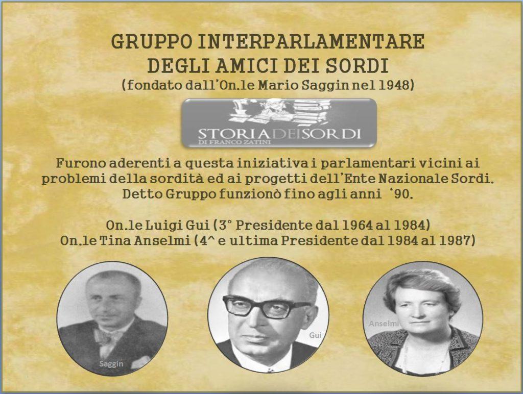 Gruppo Interparlamentare Amici dei Sordi 1948-1987