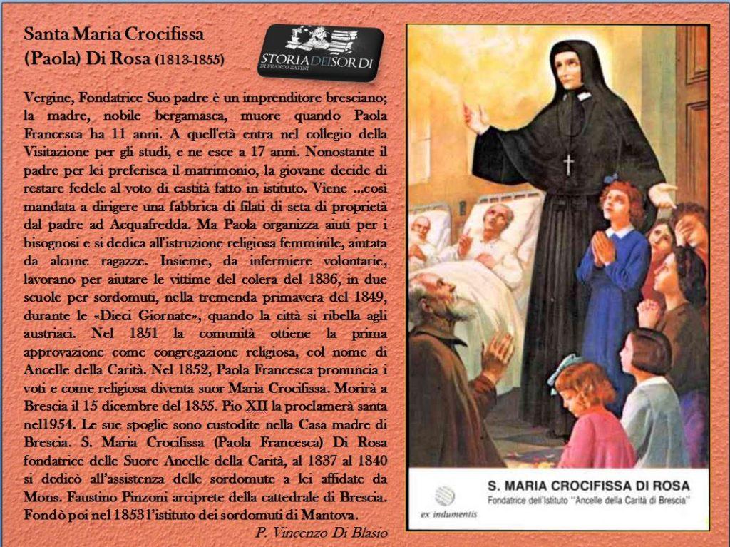 Santa Maria Crocifissa De Rosa