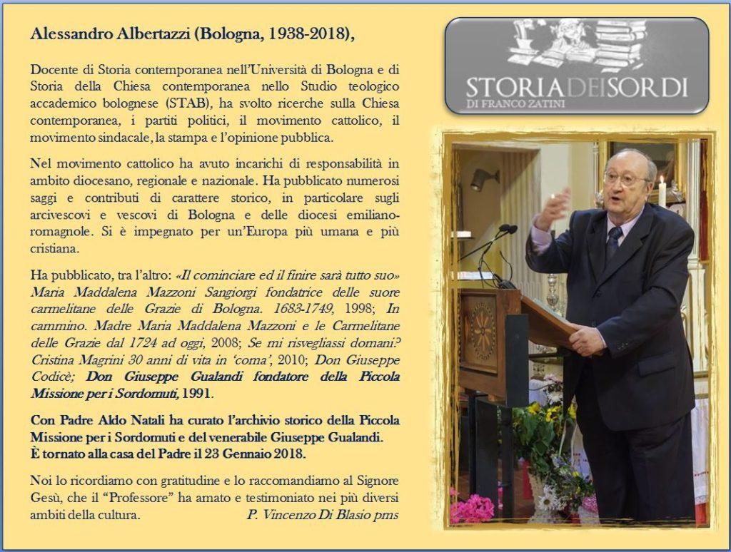 Alessandro Albertazzi 1928 - 2018
