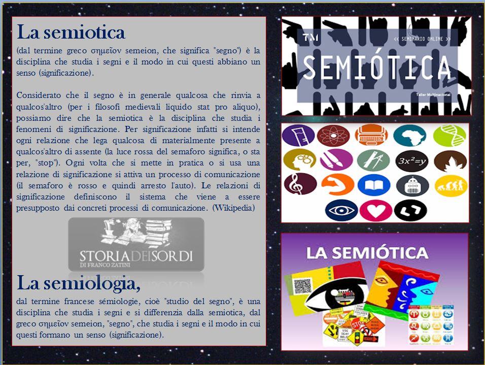 Semiologia, Semiotica