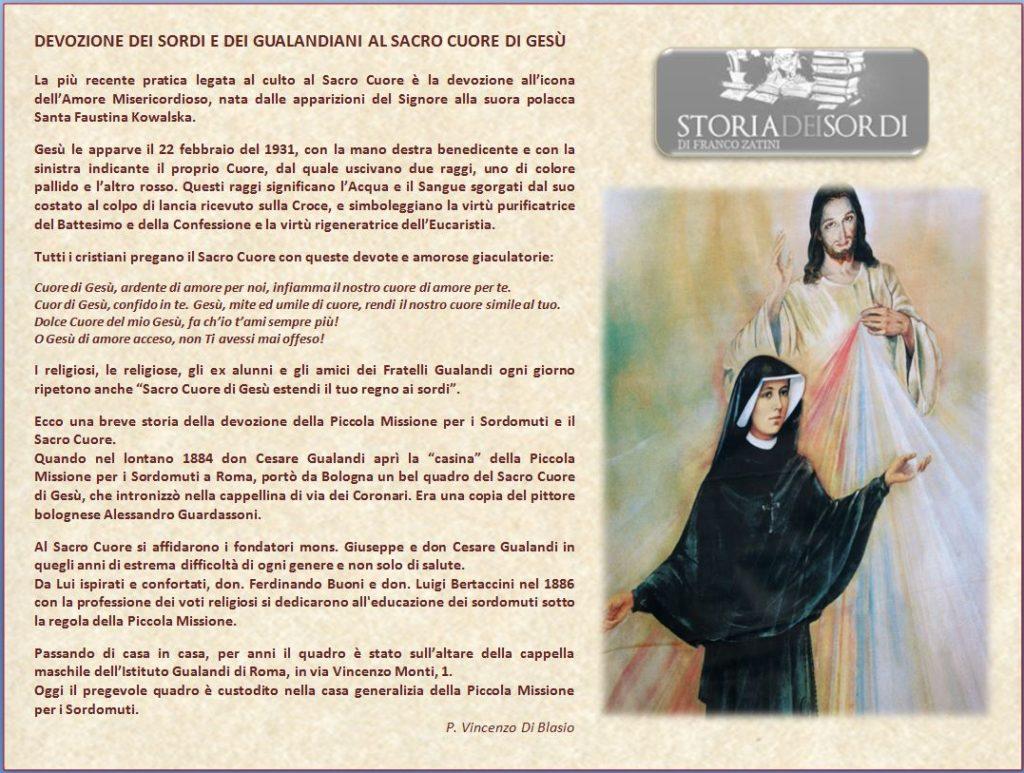 Sacro Cuore di Gesù e Santa Fausta Kowalska