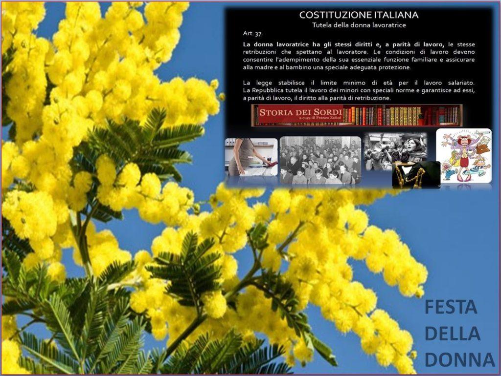 Festa della Donna 2008 costituzione