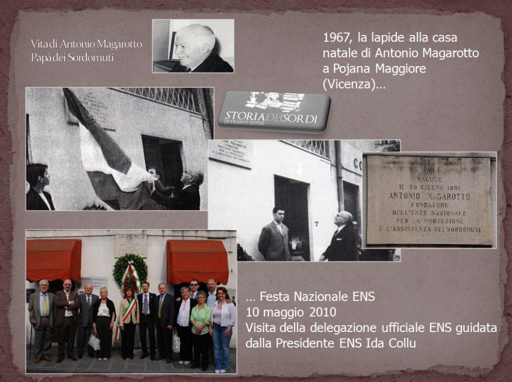 Pojana Maggiore Via Matteotti - 32 Lapide Antonio Magarotto