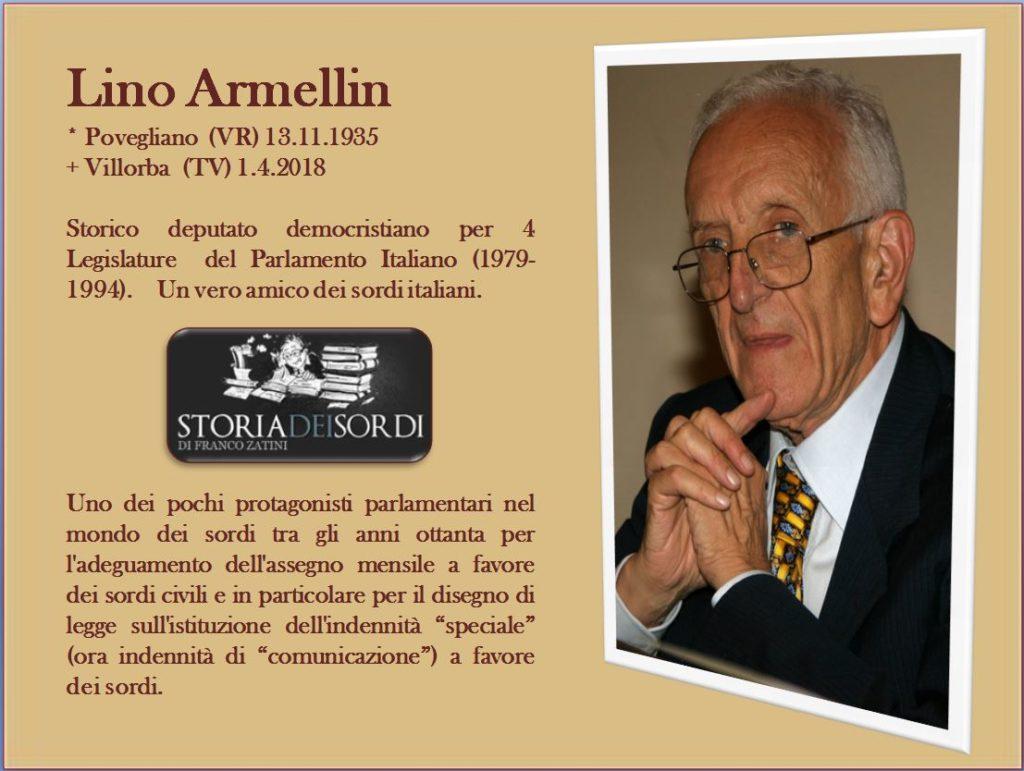 Lino Armellin 1935-2018