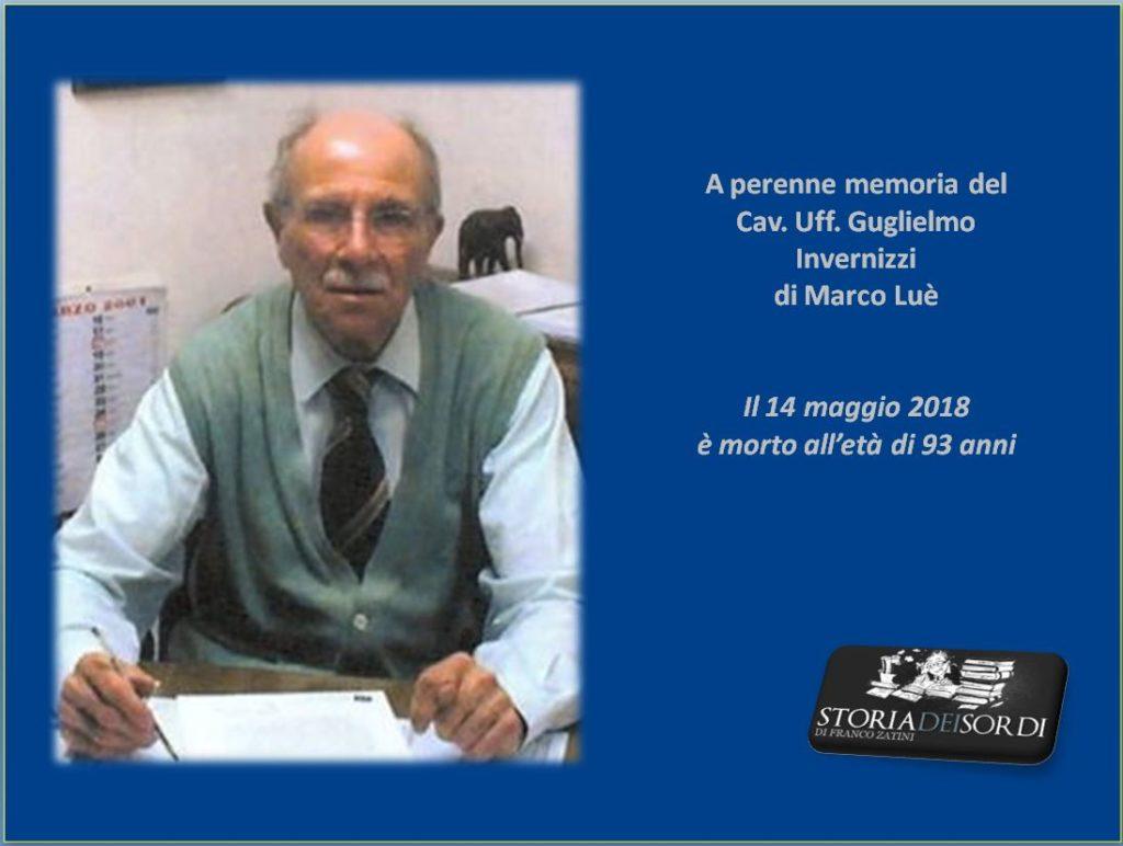 Guglielmo Invernizzi 14 maggio 2018