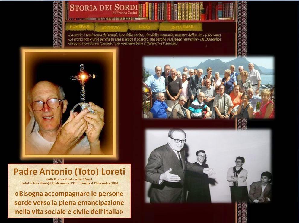 Loreti Antonio Storia dei Sordi