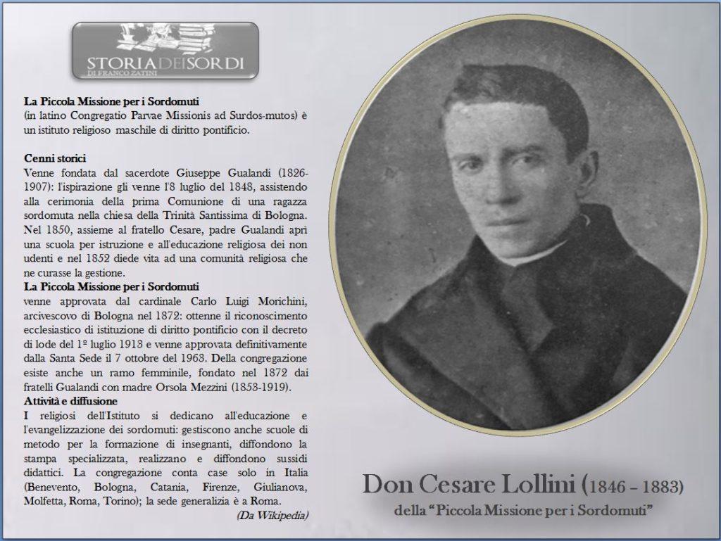 Cesare Lollini 1846 - 1883