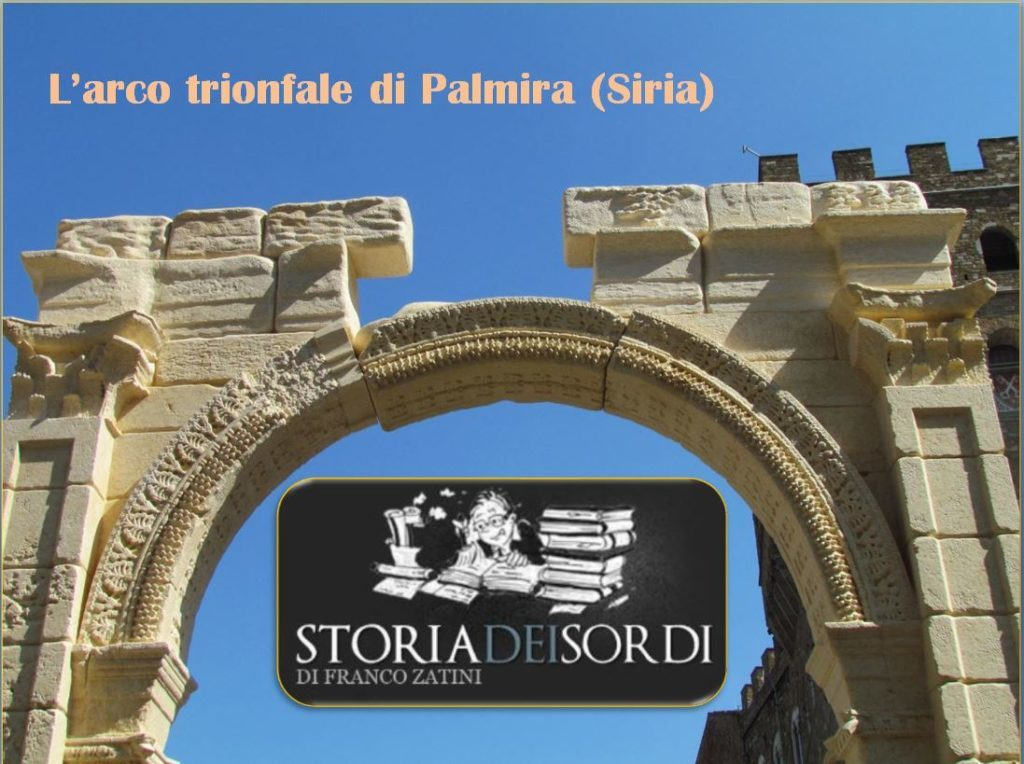Storia arco trionfale Palmira