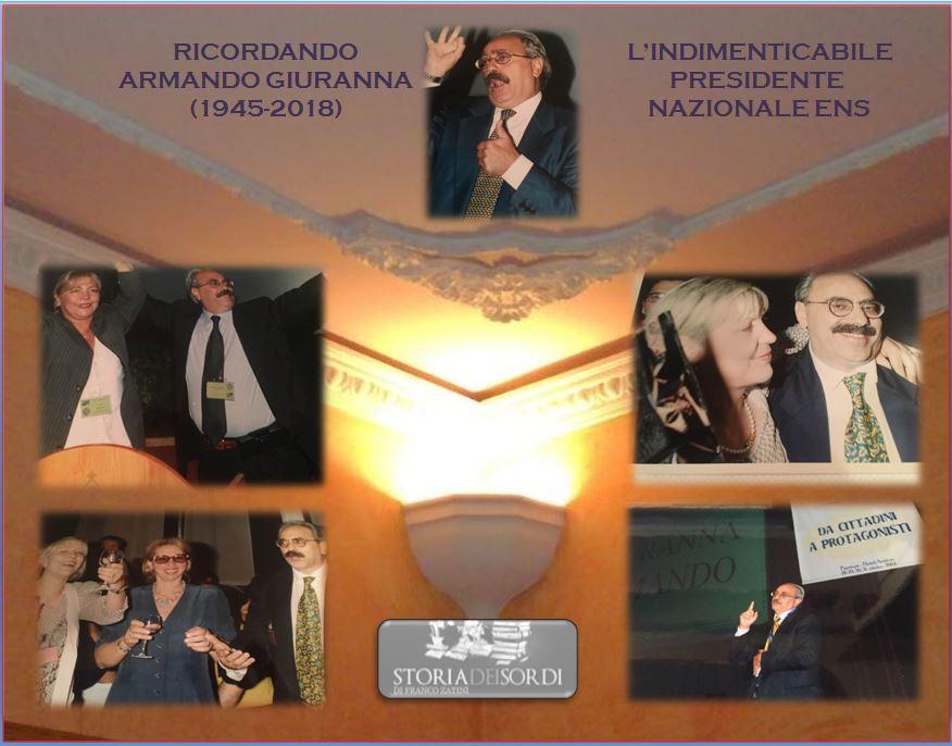 L'indimenticabile Armando Giuranna (1945-2018)