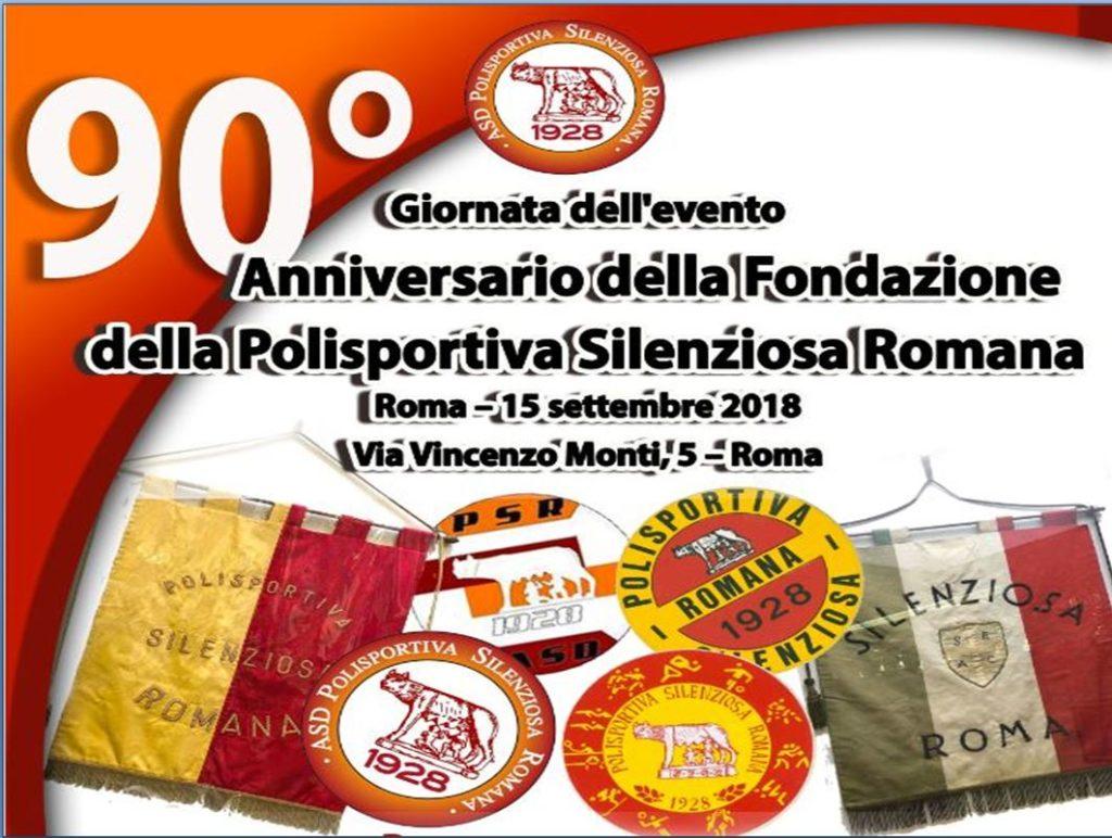 90 anni Polisportiva Silenziosa Romana