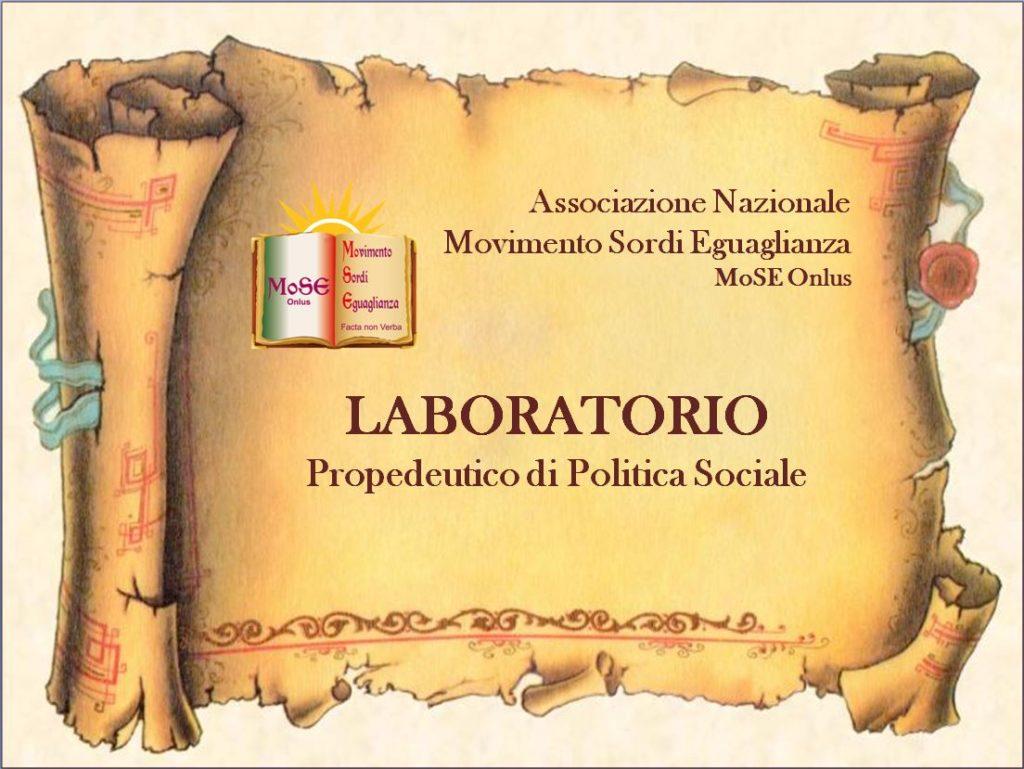 Associazione Mose Laboratorio Politica Sociale