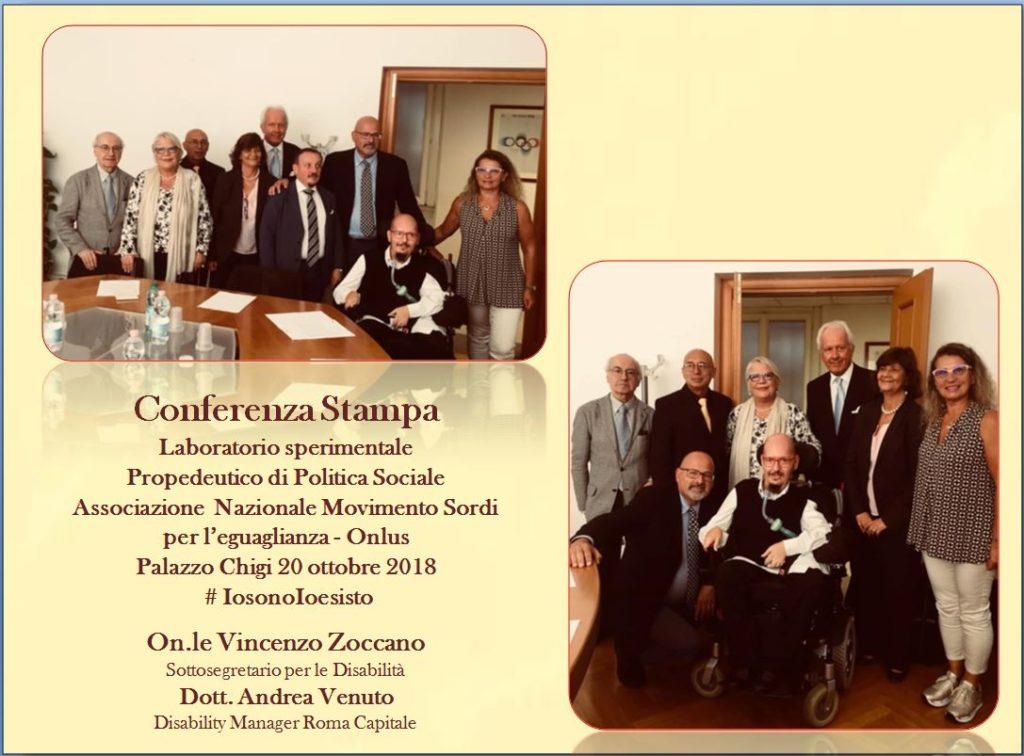 Conferenza stampa 20 settembre 2018