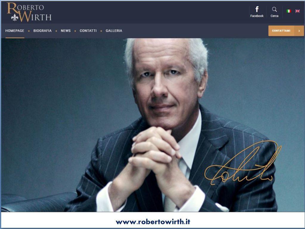 Roberto Wirth sito ufficiale