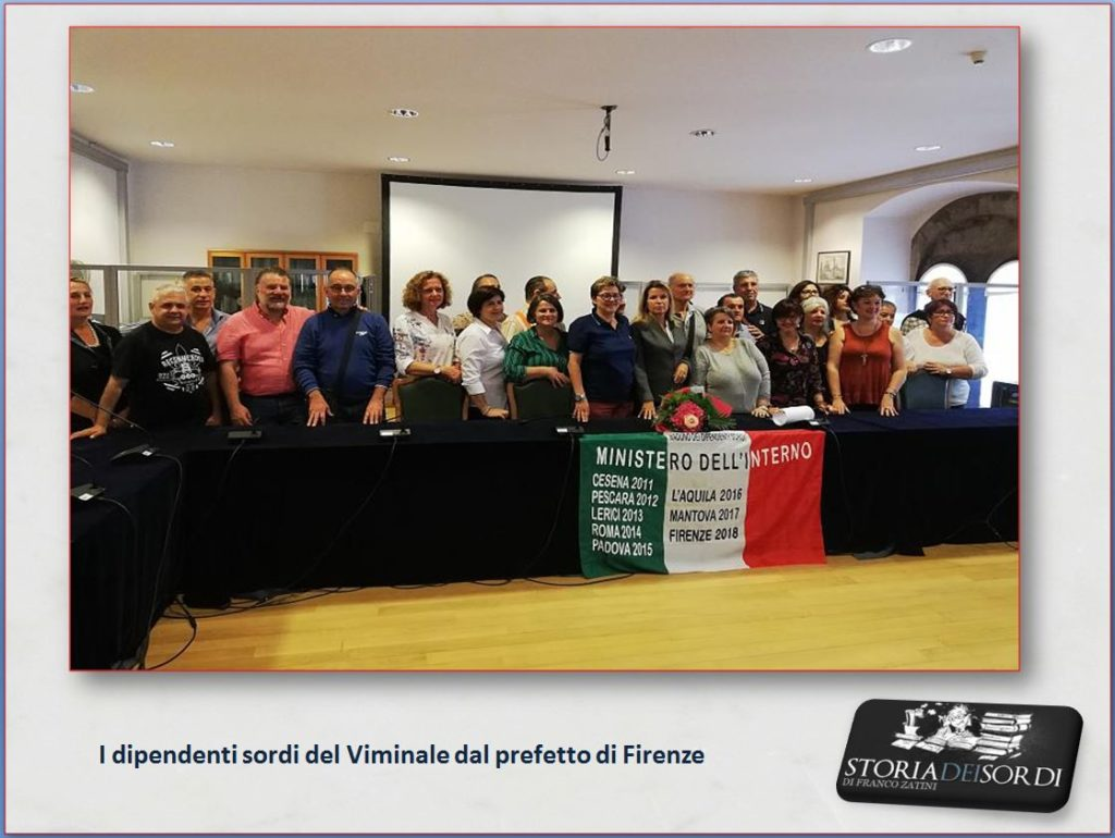 Raduno dipendenti Viminale 2018 Firenze