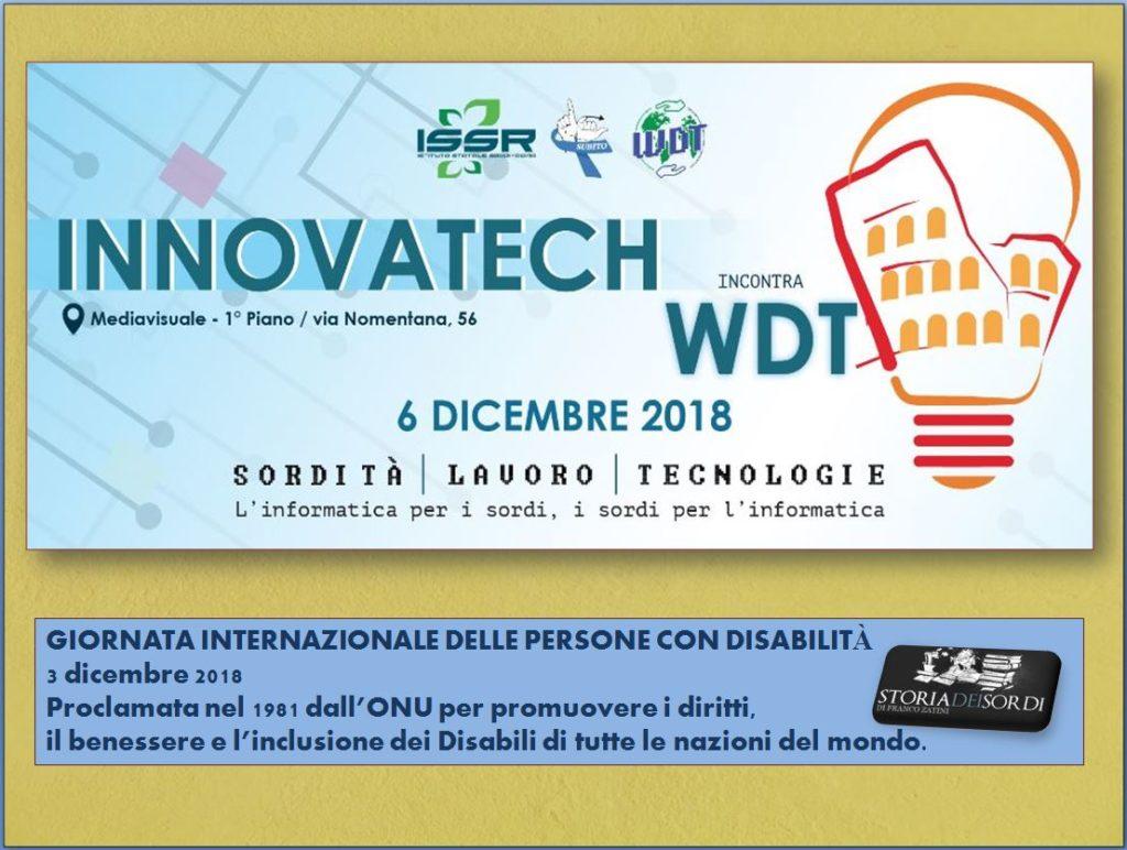 Innovatech incontra WDT